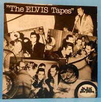 ELVIS PRESLEY THE ELVIS TAPES LP 1977 ORIGINAL INTERVIEW GREAT COND! VG++/VG++!!