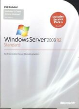 Microsoft HP ROK Windows Server 2008 Standard R2 Edition Inc 5 CAL 1-4 CPU