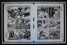 Original Production Art JOURNEY INTO MYSTERY #118, page 2 & 3, JACK KIRBY art