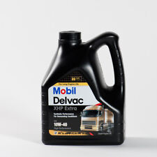MOBIL DELVAC XHP EXTRA 10W40 DA 4 LT. OLIO MOTORE DIESEL CAMION FURGONE TRATTORE