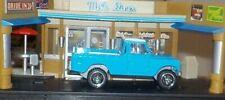 HOT WHEELS Loose Land Rover Series III Pickup (Blue Version)