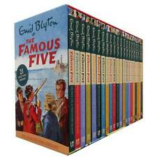 Famous Five 21 Series Books Box Set pack collection By Enid Blyton NEW