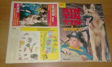 Album di figurine Rin Tin Tin & Rusty  completo 1977- Edizioni DN