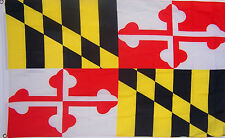 3X5 Maryland Flag State of Maryland Premium Banner Grommets FAST USA SHIPPING