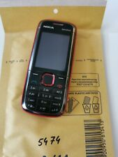Nokia 5130C - Basic Bid Button Mobile Phone - Red - Working Condition - Unlocked