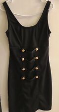 Delusional Military Style Dress. Black. Size Juniors Medium. New With Tags.