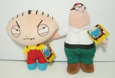 Family Guy Plush Baby Stevie Peter Griffin 2005 Set of 2