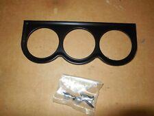 Sunpro Mini Triple Gauge Mounting Panel 1 12 Black