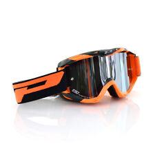Progrip Motorrad Cross Brille 3450 Multilayered in Farbe Orange