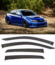 For Subaru Impreza 2000-08 Sd/Wagon Window Visors Sun Rain Guard Vent Deflectors (Fits: Subaru)