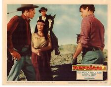 GUY MADISON FELICIA FARR KATHRYN GRANT REPRISAL ORIG 11x14 Lobby Card LC688
