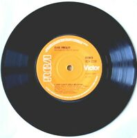 EX/EX ELVIS PRESLEY: I JUST CAN'T HELP BELIEVIN' (RCA 2158) VINYL 45