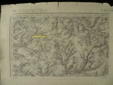 Carte d'État-Major Amiens Nord-Est 1941