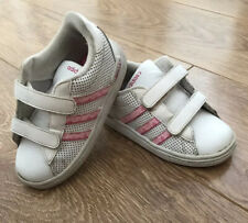 Girls Adidas Trainers Size 9