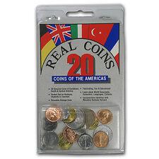 World Set 20-Coins of the Americas - SKU #87247