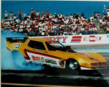 JOHN FORCE 1980'S WENDY'S PEPSI  DRAG RACING CHEVROLET CORVETTE PHOTO