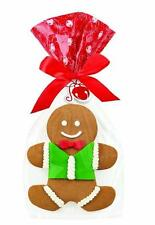 Christmas Gingerbread Treat Bag Kit 4 ct from Wilton #0019 - NEW