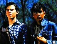 C Thomas Howell/Ralph Macchio Dual Autographed 11X14 Photo The Outsiders 834933