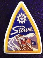 Stowe Vermont Ski Resort STICKER / DECAL  Made From Image Of Vintage-ski Patch