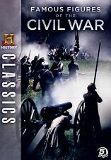 Brand NEW 5DVD SET // HISTORY  CHANNEL  // Famous Figures of the Civil War