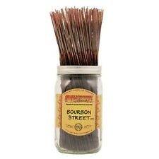 Wildberry BOURBON STREET Incense 10 sticks FREE SHIP! Whiskey Oak Butterscotch