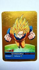 Carte LAMINCARDS Gold Dragon ball Z Sangoku 32