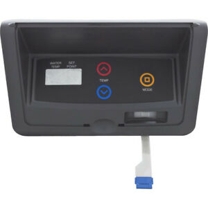 Control Panel, Raypak 207A/206A/R185B, with Decal, IID