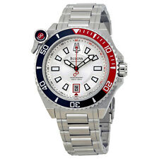 Brand New Bulova 98B167 Precisionist Catamount Silver Dial Bracelet Diver