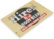 TIN SIGN Hires Root Beer Rustic Retro Soda Sign Cola Shop Store Kitchen A086