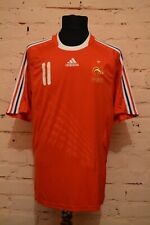 FRANCE AWAY FOOTBALL SHIRT 2008/2009 SOCCER JERSEY MAILLOT ADIDAS #11 NASRI