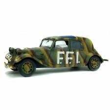 Solido Citroën Traction 1944 FFI 1/18 Voiture Militaire