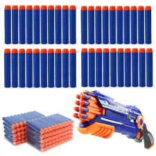 Kids Toy Bullet Soft Darts Round Head Blasters for NERF N-Strike Gun 50/Lot Best