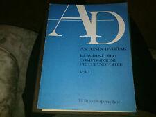 Antonin Dvorak Supraphon Vol 1 Dumka Op. 35, 36, 42, 8, 54, 52, Eklogy b 103,