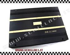 Master Audio DR-2.1600 amplificatore mono / 2 canali 1600 watts mosfet auto sp