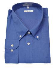 men's long sleeve french blue woven shirt 17 34-35 (  X L )