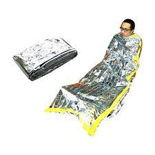 Emergency Survival Outdoor Kit Rescue Thermal Space Sleeping Bag Blanket Useful