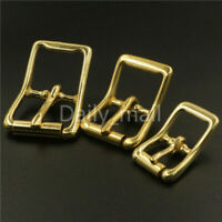 Brass bridle middle bar roller buckle halter harness hardware bag belt buckles