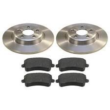 Bremsen hinten für AUDI A4 (8K,B8) A5 (8F+8T) Q5 1KW 2EH Bremsscheiben Beläge