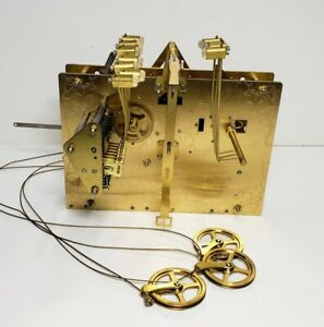 New Hermle 1161-853 /114 cm Triple Chime Cable Driven Grandfather Clock Movement