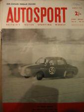 Autosport March 9th 1962 * MG Twin Cam TEST & BMC et compétitions *