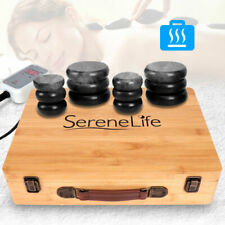 SereneLife Hot Stone Massage Therapy System Kit with Travel Case (For Parts)