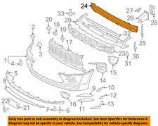 PORSCHE OEM 15-16 Macan Front Bumper-Impact Reinforcement Bar Rebar 8R0807113D