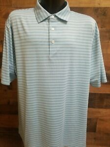 Ahead Extreme XL Extra Large Mens Blue White Short Sleeve Golf Polo Shirt NWOT