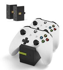 Snakebyte Dual Controller Ladestation inkl 2 Batterien Xbox One Twin Ladegerät