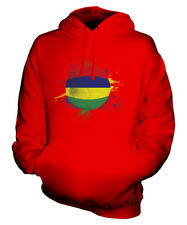 MAURITIUS FOOTBALL UNISEX HOODIE TOP GIFT WORLD CUP SPORT