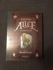 Alice IM SPIEGELLAND Livre JACOBY STUART VERSION ALLEMANDE NEUF BLISTER