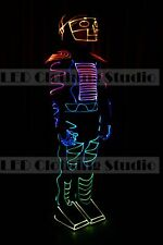 Fiber optic full color LED Dance costume for party club show Halloween EDM Rave
