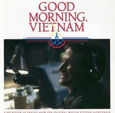 Good Morning Vietnam Original Motion Picture Soundtrack CD FREE SHIPPING