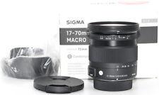 Objektiv Sigma 17-70mm F2,8-4 DC Macro C OS für Nikon 1 Jahr Gewähr. *4