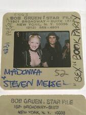 Madonna Sex Book Party Steven Meisel 35mm Trasparency Slide
